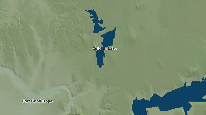 for Colville Lake, Northwest Territories