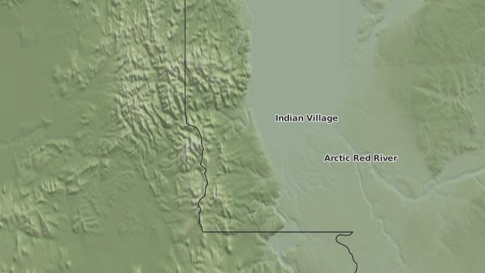 pour Fort McPherson, Territoires du Nord-Ouest