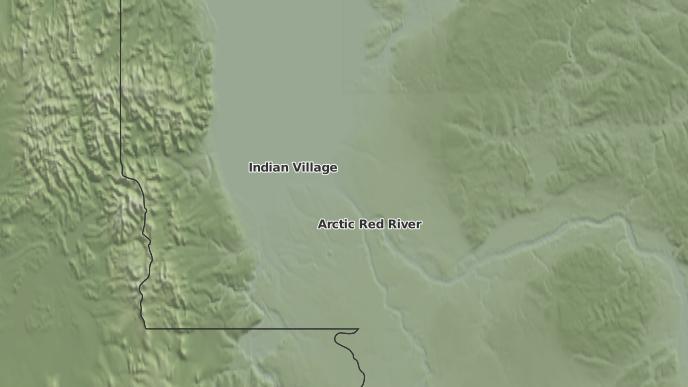 pour Tsiigehtchic, Territoires du Nord-Ouest
