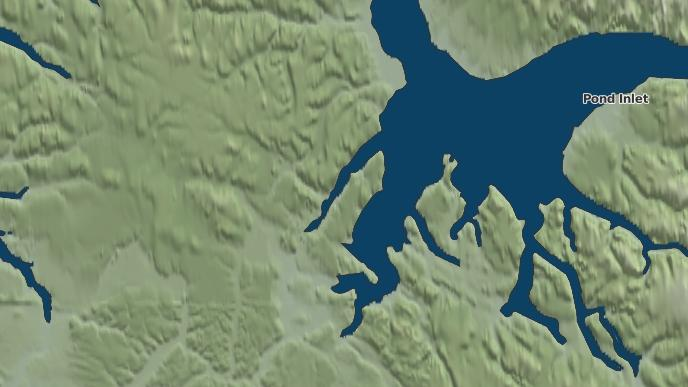 for Milne Inlet, Nunavut