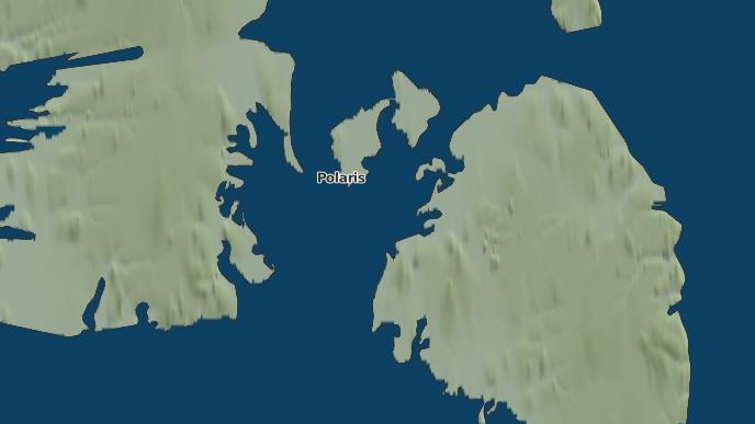 pour Polaris, Nunavut