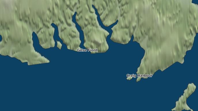 for Grise Fiord, Nunavut