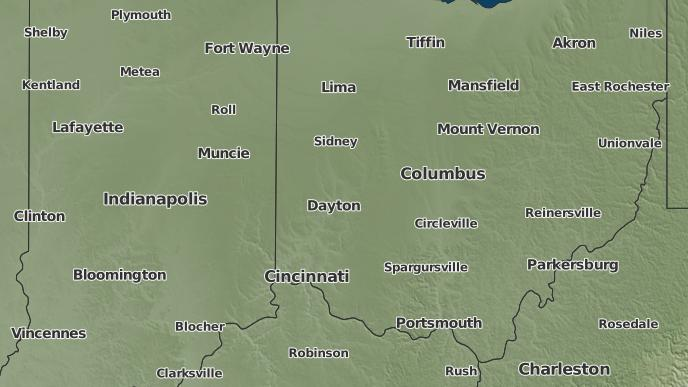 Manchester Ohio Map.3 Day Severe Weather Outlook West Manchester Ohio The Weather