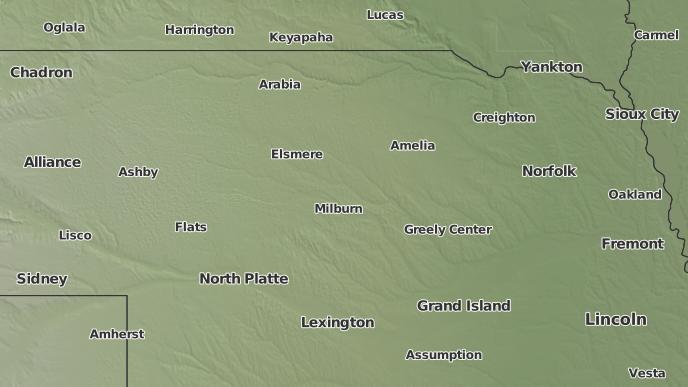 Burwell Nebraska Map.3 Day Severe Weather Outlook Burwell Nebraska The Weather Network