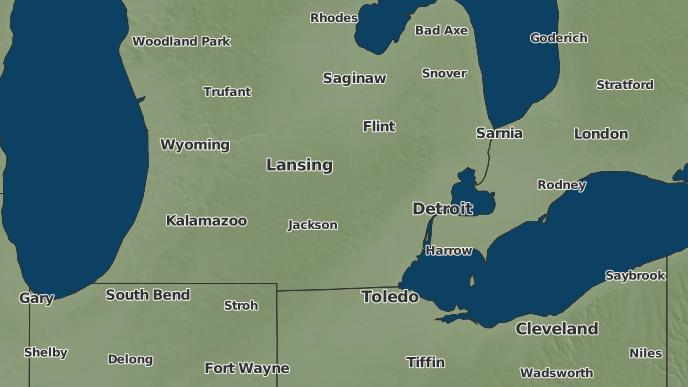 Bloomfield Michigan Map.3 Day Severe Weather Outlook West Bloomfield Township Michigan