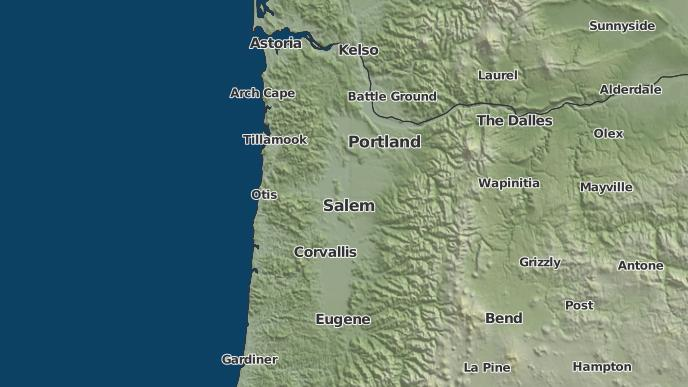 Fall City Oregon Map.3 Day Severe Weather Outlook Falls City Oregon The Weather Network