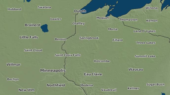 3 Day Severe Weather Outlook Spooner Wisconsin The Weather Network
