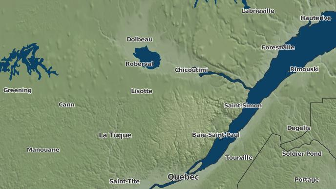 for Lac-Bouchette, Quebec