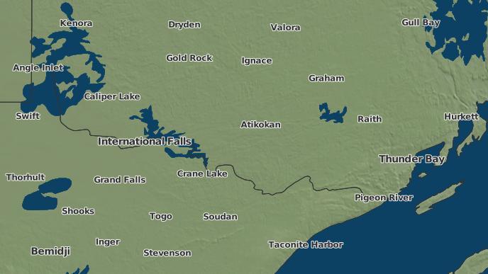 pour Lac La Croix, Ontario