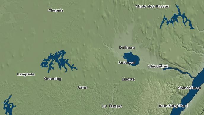 for Saint-Félicien, Quebec