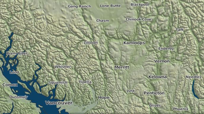 for Clapperton, British Columbia
