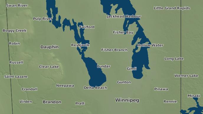 pour Fisherton, Manitoba