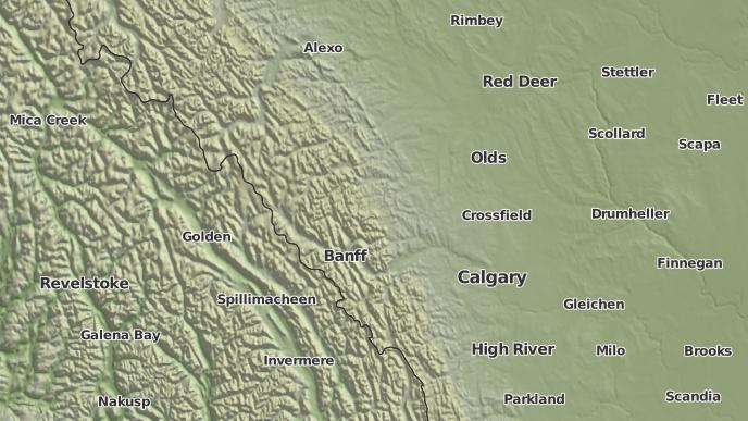 for Banff, Alberta