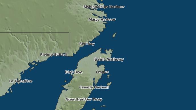 for Goose Cove East, Newfoundland and Labrador