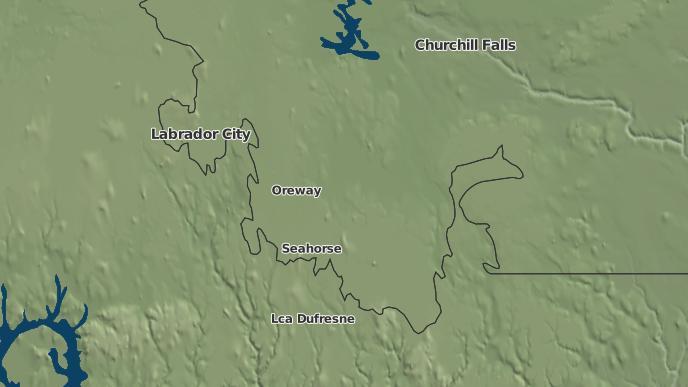 pour Ashuanipi, Terre-Neuve-et-Labrador