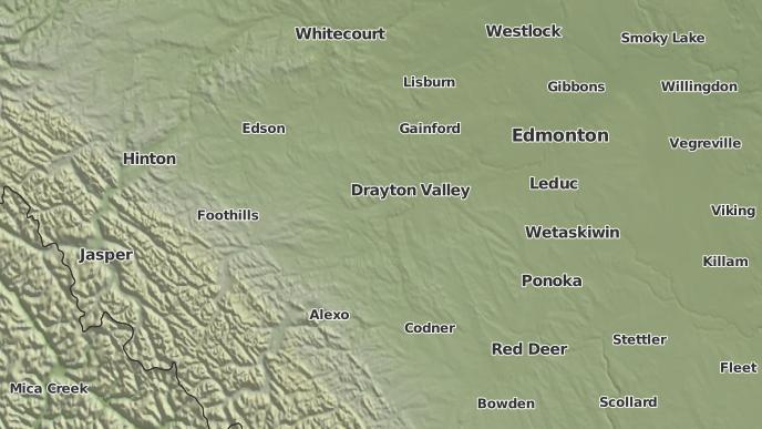 for Alder Flats, Alberta
