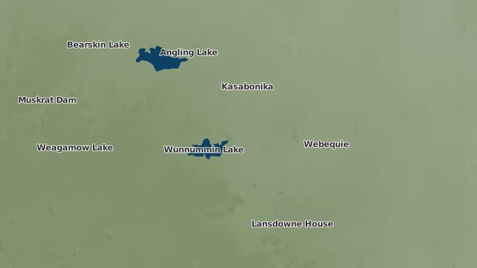 for Wunnumin Lake Indian Reserve 86, Ontario