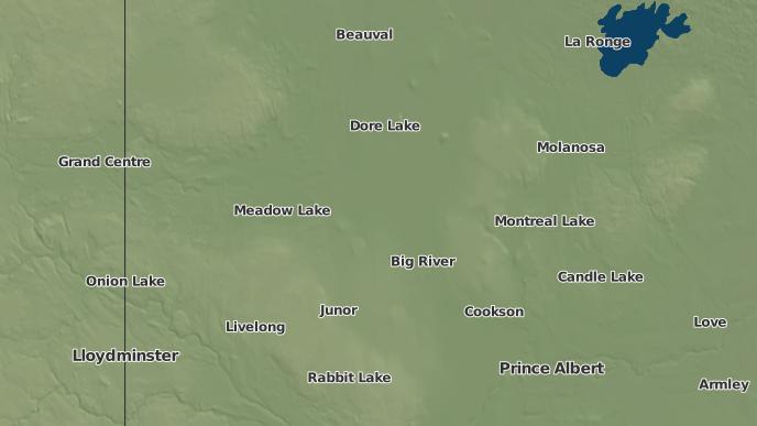 pour Green Lake, Saskatchewan
