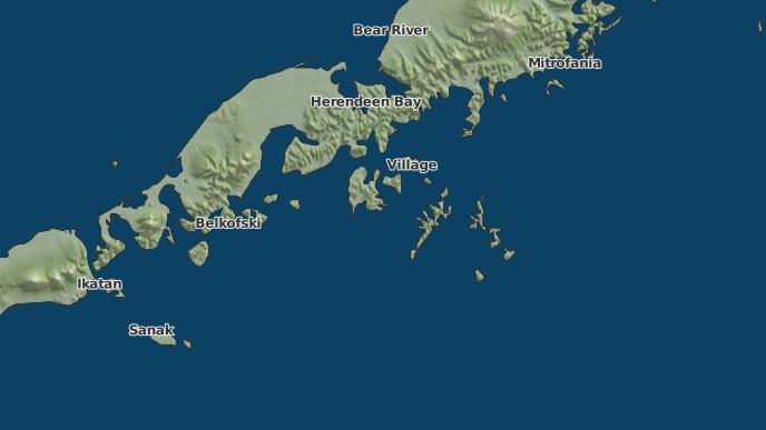 Sand Point Alaska Map.3 Day Severe Weather Outlook Sand Point Alaska The Weather Network