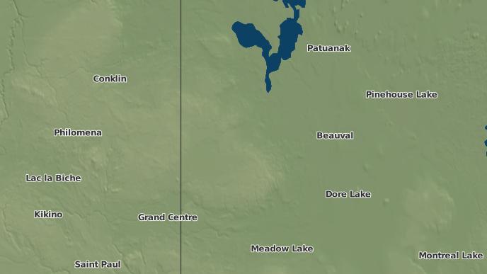 for Canoe Lake I.R. 165A, Saskatchewan