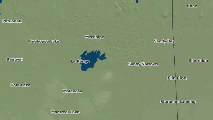 for Anglo-Rouyn Mine Site, Saskatchewan