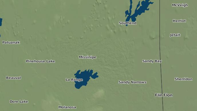 for Missinipe, Saskatchewan
