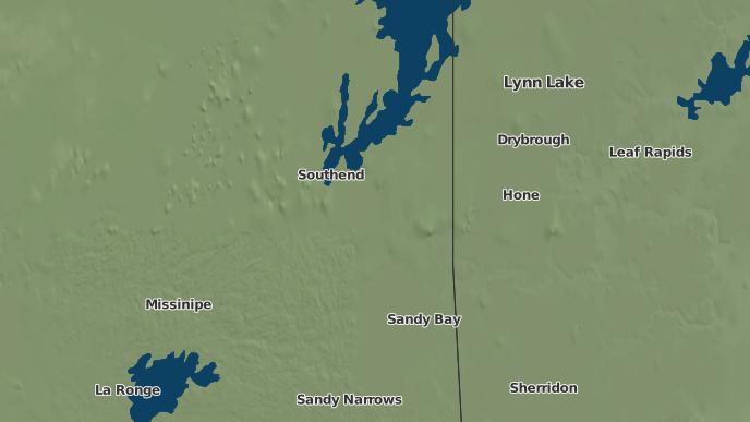 for Southend I.R. 200, Saskatchewan