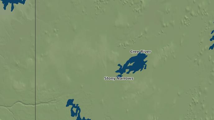 pour English River First Nation Cable Cree Lake IR 192M, Saskatchewan