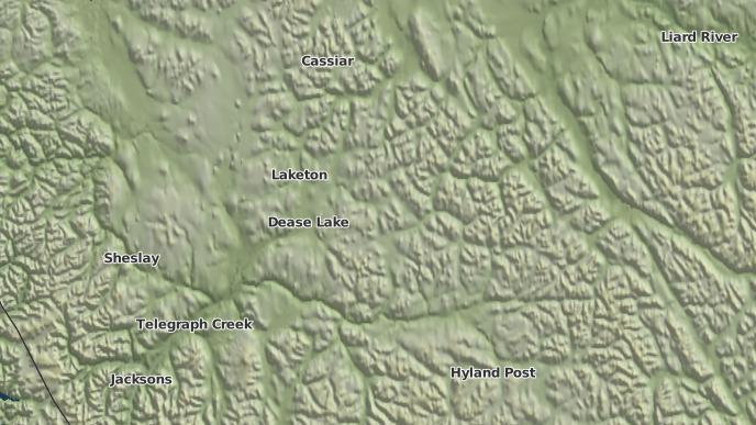 for Dease Lake 9, British Columbia