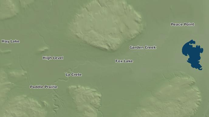 pour Adams Landing, Alberta