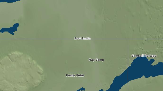 pour Cunningham Landing, Territoires du Nord-Ouest