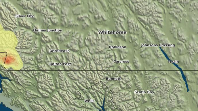 for De Wette, Yukon