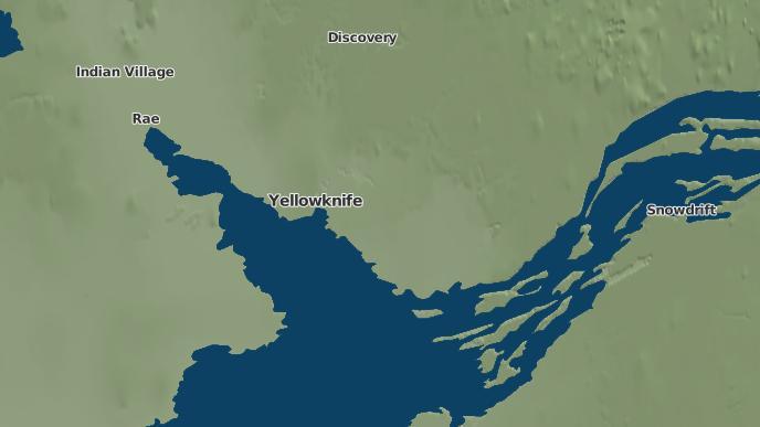 for Yellowknife, Northwest Territories