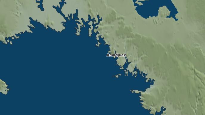 pour Amadjuak, Nunavut