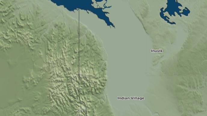 pour Aklavik, Territoires du Nord-Ouest