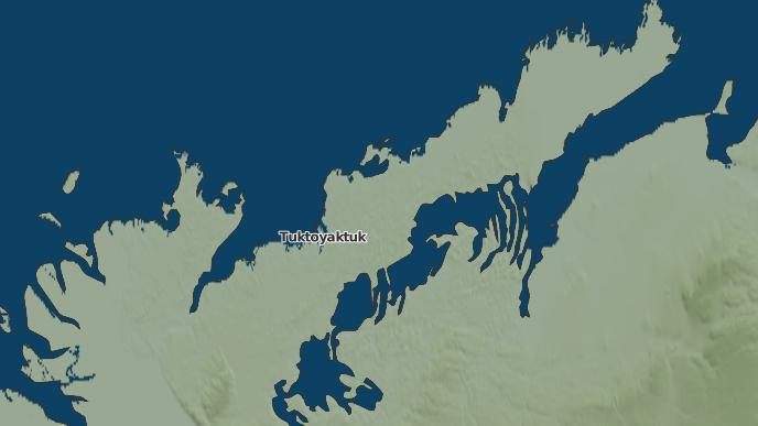 for Tuktoyaktuk, Northwest Territories