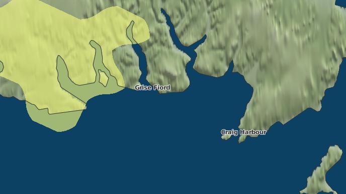 pour Grise Fiord, Nunavut