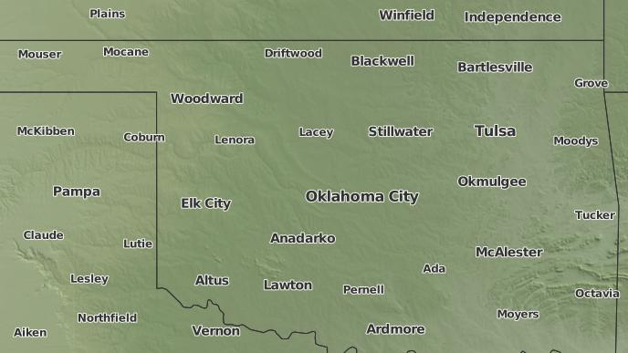 3 Day Severe Weather Outlook Mustang Oklahoma The Weather Network