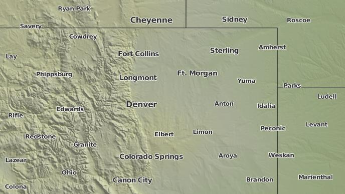 3 Day Severe Weather Outlook Henderson Colorado The Weather Network