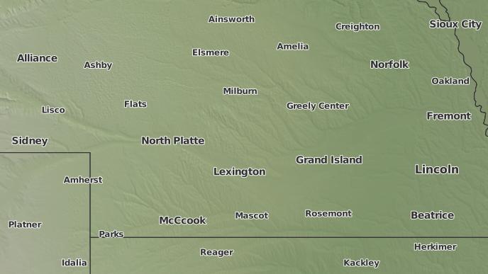 3 Day Severe Weather Outlook Broken Bow Nebraska The Weather Network