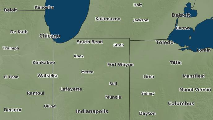 North Manchester Indiana Map.3 Day Severe Weather Outlook North Manchester Indiana The