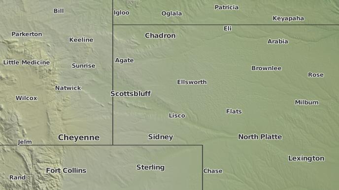 3 Day Severe Weather Outlook Alliance Nebraska The Weather Network