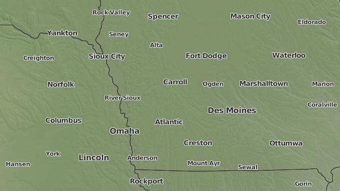 Audubon Iowa Map.3 Day Severe Weather Outlook Audubon Iowa The Weather Network