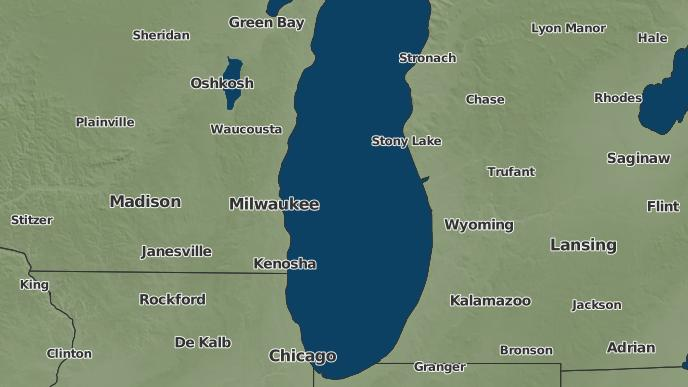 Cudahy Wisconsin Map.3 Day Severe Weather Outlook Cudahy Wisconsin The Weather Network