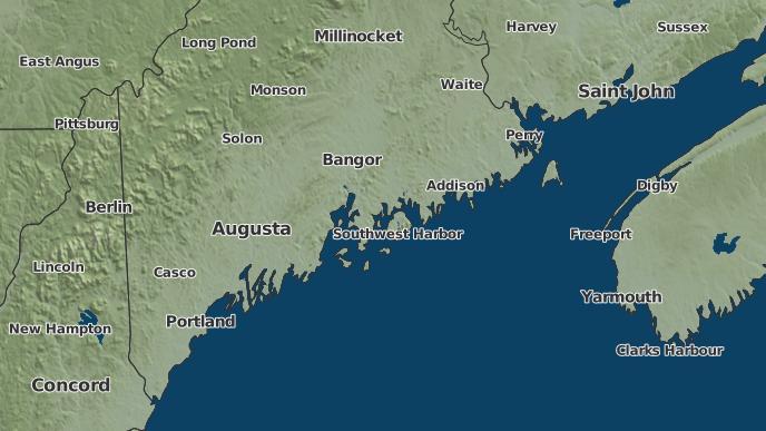 for Atlantic, Maine