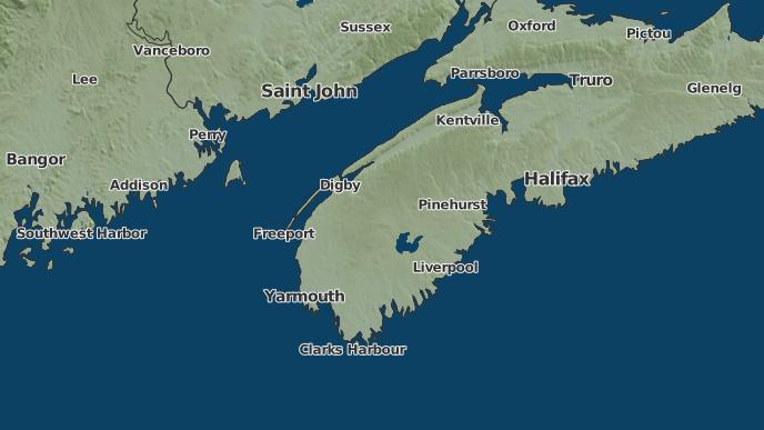 pour Amiraults Corner, Nouvelle-Écosse