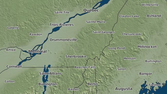 pour Lac-Mégantic, Québec
