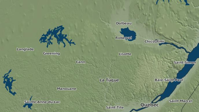 pour Wemotaci, Québec