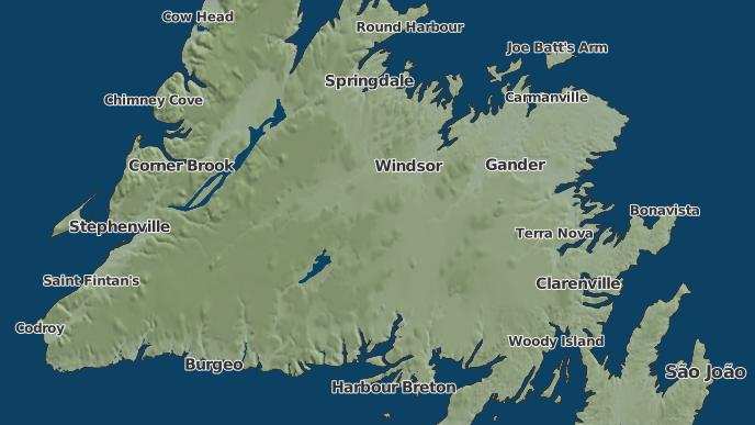 for Buchans Junction, Newfoundland and Labrador