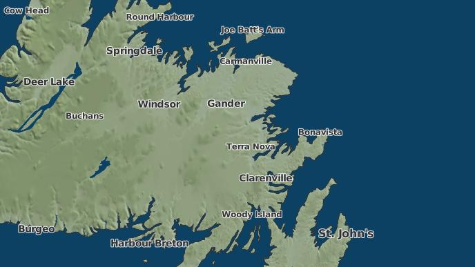 pour Rosedale, Terre-Neuve-et-Labrador